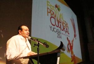 Discurso de Roger Metri Duarte al inaugurar el Festival Primavera Cultural 2014