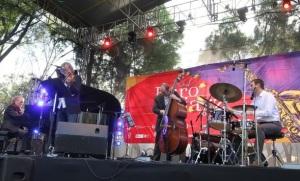 Jan Jarczyk Trio de Polonia, se presentó en el CNA, dentro del Festival Eurojazz 2014. | Foto: NOTIMEX