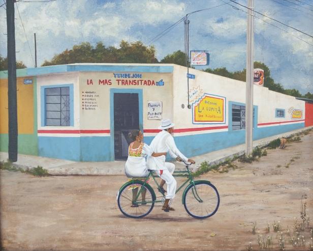 Obra La más transitada | Manuel Ontiveros