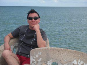 Armando Pacheco | Director de Arte y Cultura, así como de Desinformando a Yucatán | Foto: LIGIA CHAN BRITO