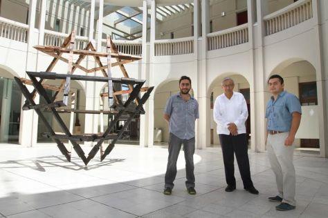 """""""Contemporal"""" es un proyecto de Alberto Arceo Escalante, que revisa el arte creado en Yucatán desde el año 2000 a la fecha. No tiene carácter enciclopédico, sino que es una revisión hecha a partir de criterios específicos   Foto: CORTESÍA"""