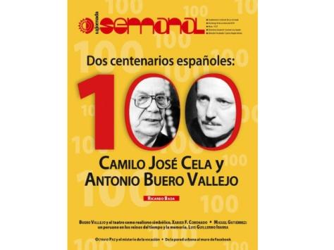 Portada de la Jornada Semanal editado por el periódico La Jornada