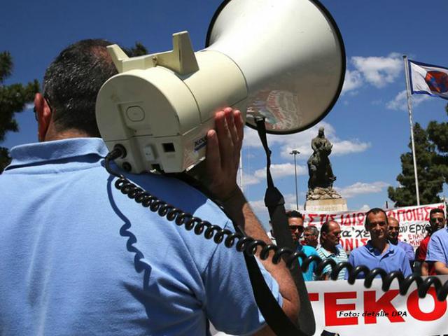 Medios de comunicación de Grecia están en huelga de 24 horas