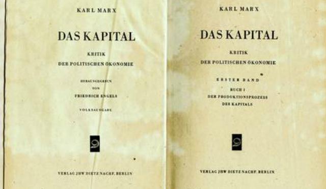Resultado de imagen para el capital karl marx