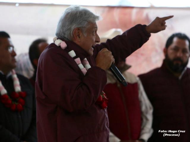 López Obrador acepta que lo investiguen, pero pide carearse con Peña, Calderón y Osorio Chong