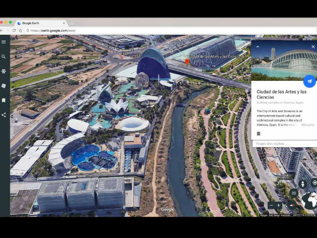 Google presenta su nueva versión de Google Earth