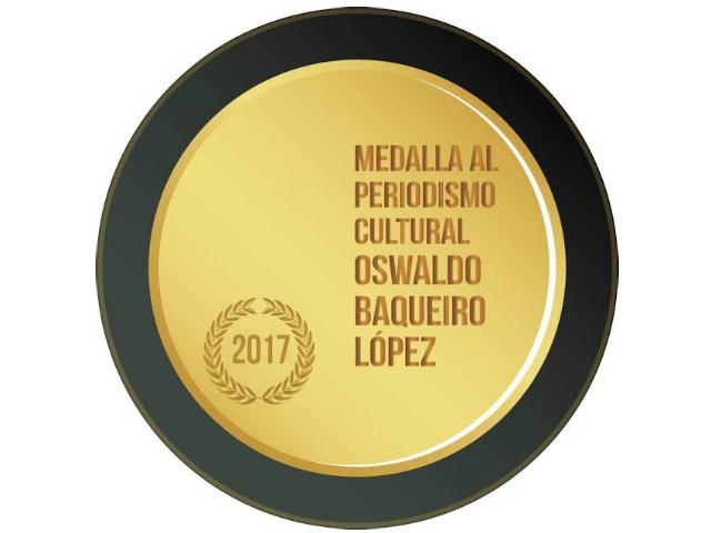 Abren convocatorias para medallas al Periodismo Cultural y de Espectáculos
