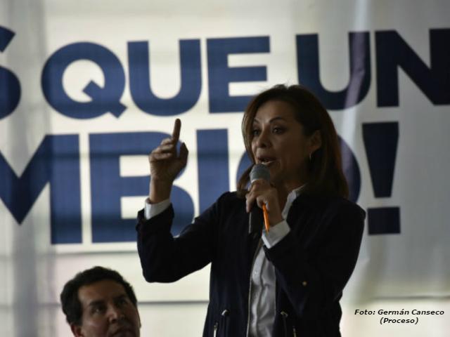 """Sin calidad moral, Vázquez Mota arremete contra Delfina Gómez; señala que su contrincante utiliza dinero """"sucio"""" de Duarte"""
