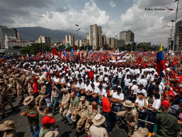 Más de tres millones de venezolanos respaldan a Nicolás Maduro; muertos en protestas, con fines políticos de la derecha