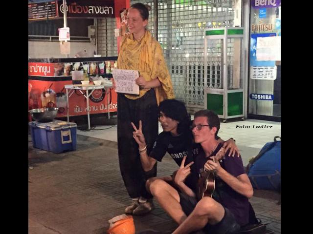 Los 'Begpackers', turistas que mendigan para pagar sus vacaciones