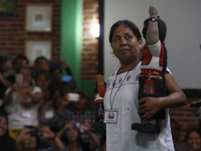 Eligen CNI y EZLN a María Patricio como su candidata a 2018