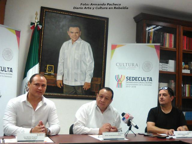 """Presentan programa de la Primavera Cultural 2017; """"Los Tachos"""", ganadores de la Medalla Pastor Cervera"""