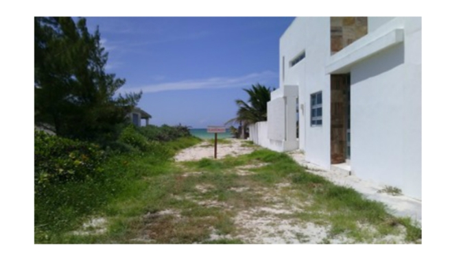 PROFEPA clausura construcción en Dzemul por remoción de vegetación natural de duna costera