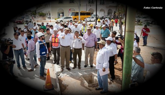 En etapa final, modernización de la avenida Colón