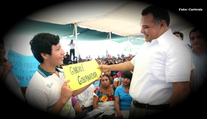 Rolando Zapata Bello es calificado con el mejor desempeño como gobernador en México, según Encuesta Nacional 2017