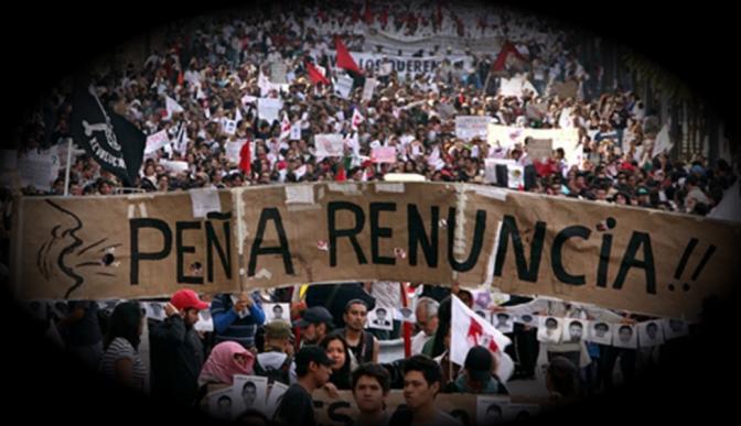 Más de la mitad de los mexicanos reprueba a Enrique Peña Nieto