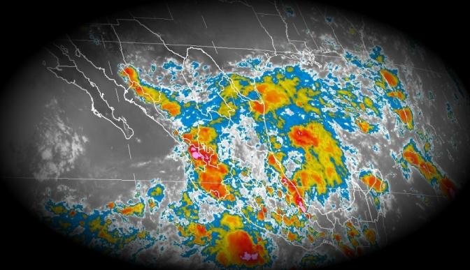 Habrá lluvias en gran parte del país por el primer temporal de septiembre: Conagua