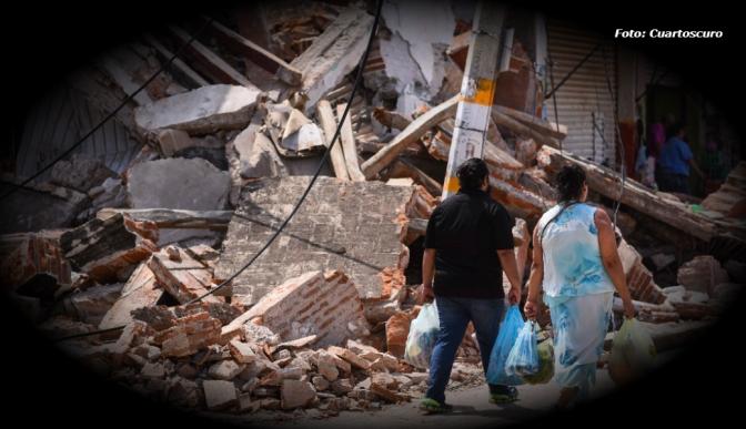 Otro temblor y más de 900 réplicas en Oaxaca