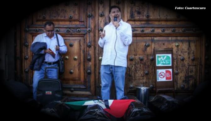 Gerardo Fernánde Noroña apoyará a López Obrador en elecciones a la Presidencia