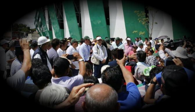 Repudio hacia Graco Ramírez crece en Morelos por el lento reparto de ayuda a damnificados por sismo