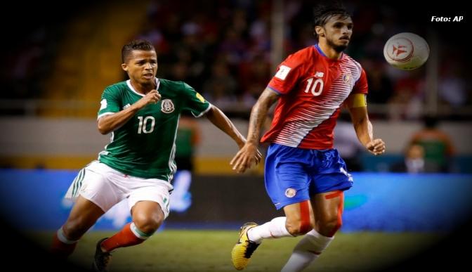 Costa Rica y México empatan 1-1 en hexagonal rumbo a Rusia 2018