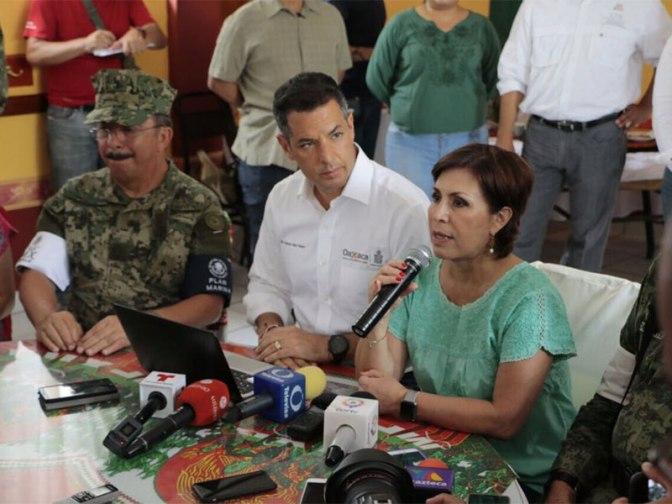 Reporta gobierno estatal 800 mil afectados por sismo en Oaxaca; suspenden clases el lunes