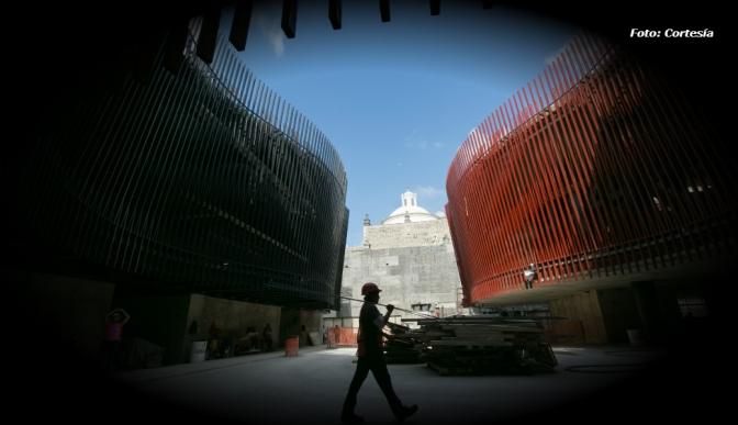 Palacio de la Música lleva un avance del 90 por ciento: autoridades