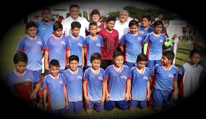 """Inicia en Yucatán torneo de la Liga de Fútbol """"Eric Díaz Palma"""""""