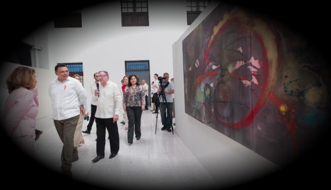 """Se inaugura """"El anillo del Nibelungo. El anillo de la creación"""" del artista catalán Manel Pujol Baladas"""
