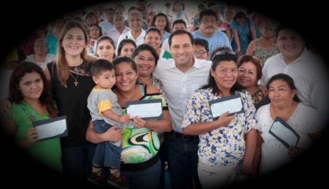 Mauricio Vila entrega apoyos para realizar proyectos productivos