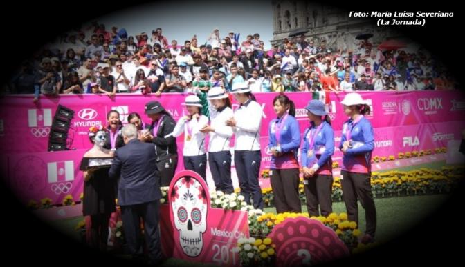 Mexicanas ganan plata en Mundial de Tiro con Arco