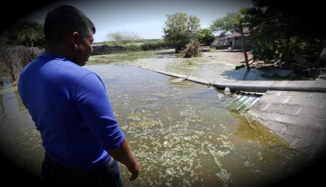 San Mateo del Mar, el pueblo mexicano inundado por el Océano Pacífico