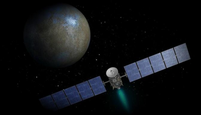 Extiende la NASA misión de sonda espacial Dawn en planeta enano Ceres