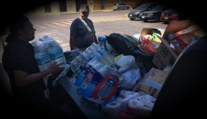 Morena-Yucatán colecta una tonelada de donativos para damnificados de Oaxaca