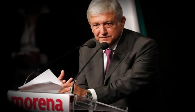 Morena hará historia en elecciones de 2018: López Obrador