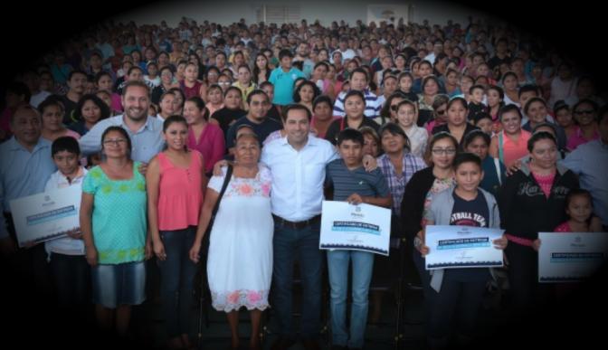 Habría incrementado 62 por ciento padrón de beneficiarios de becas escolares en el Ayuntamiento de Mérida