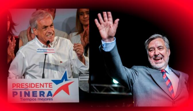 Piñera y Guillier se irán a segunda vuelta en Chile