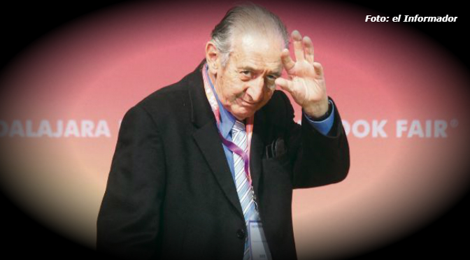 La luz de Eduardo Lizalde inundó el auditorio Juan Rulfo