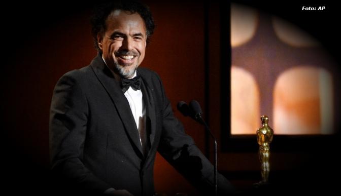 Recibe González Iñárritu Oscar honorífico por 'Carne y arena'