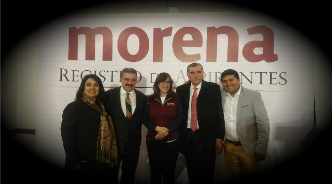 Rogerio Castro se registra como precandidato para la gubernatura de Yucatán por Morena
