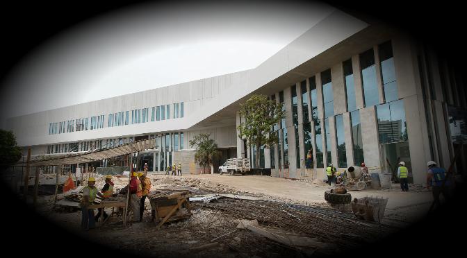 En etapa final, el Centro Internacional de Congresos