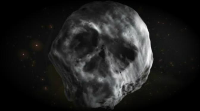 Asteroide con forma de cráneo pasará cerca de la Tierra en 2018
