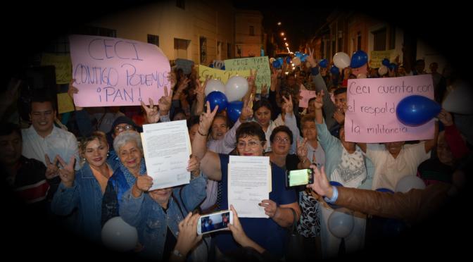 Algunos militantes panistas quieren a Cecilia Patrón Laviada como candidata a la alcaldía de Mérida