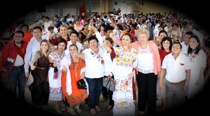Que en el PRI-Yucatán se impulsan acciones para fortalecer la igualdad de género