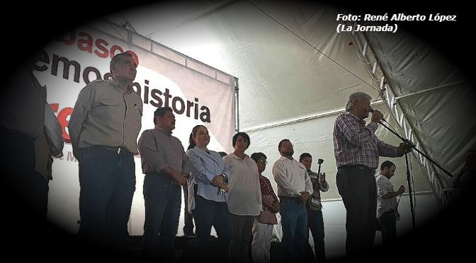 AMLO convoca a la unidad nacional para rescatar a México