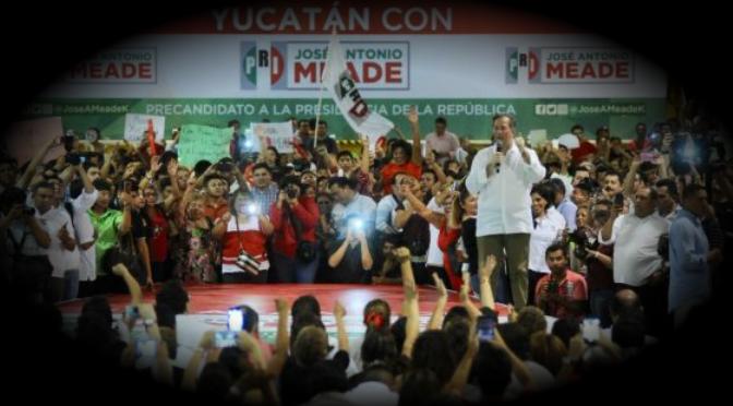 """Meade 'pasó' por Yucatán y señaló que el principal reto es la """"reconciliación"""""""