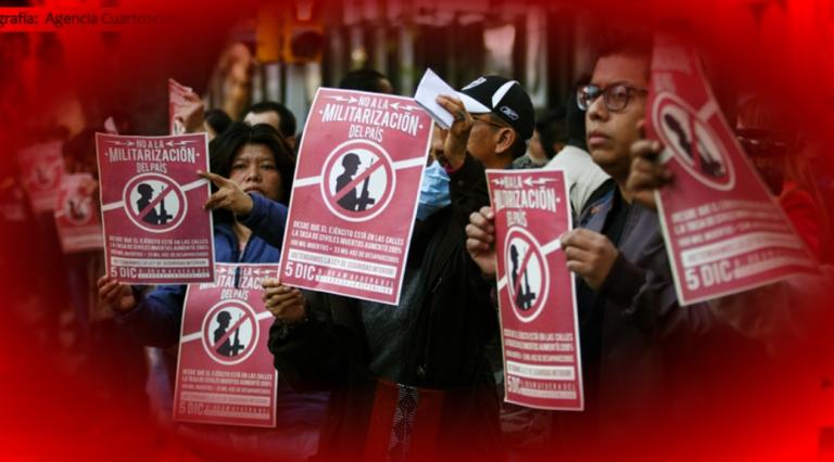 Aprobar Ley de Seguridad Interior abre la puerta a violaciones de los derechos a la libertad de expresión y a la información