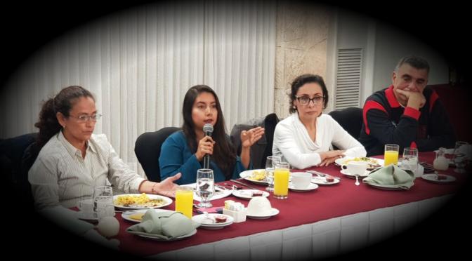 Integrantes del proyecto ¡Ya Basta! presentan Agenda Ciudadana
