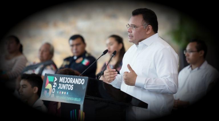 Es tiempo de consolidar el gran Proyecto Yucatán: Rolando Zapata Bello