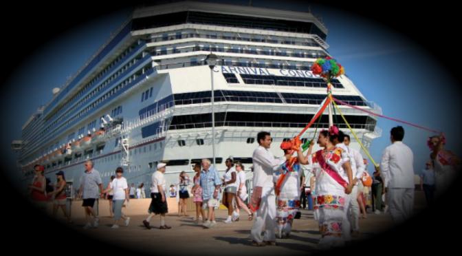 Busca el Gobierno aumentar mercado de turismo de cruceros en Yucatán